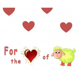 For the love of sheep